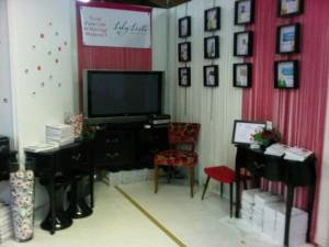Lily Liste au salon du mariage et PACS de Champerret