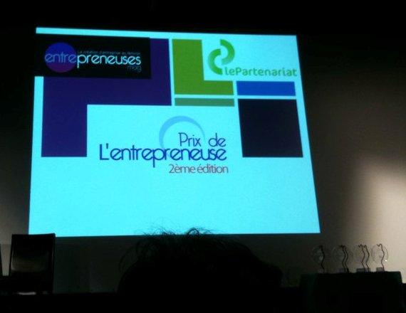 Prix de l'Entrepreneuse 2010