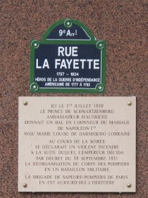La rue Lafayette
