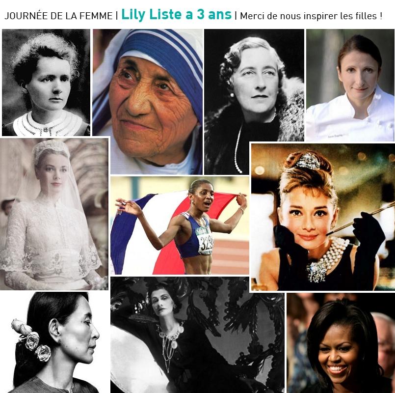 Anniversaire Lily Liste 3 ans