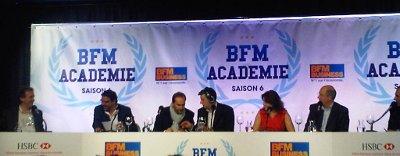 La finale de BFM Académie