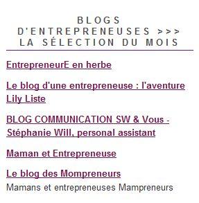 Lily dans EntrepreneusesMag